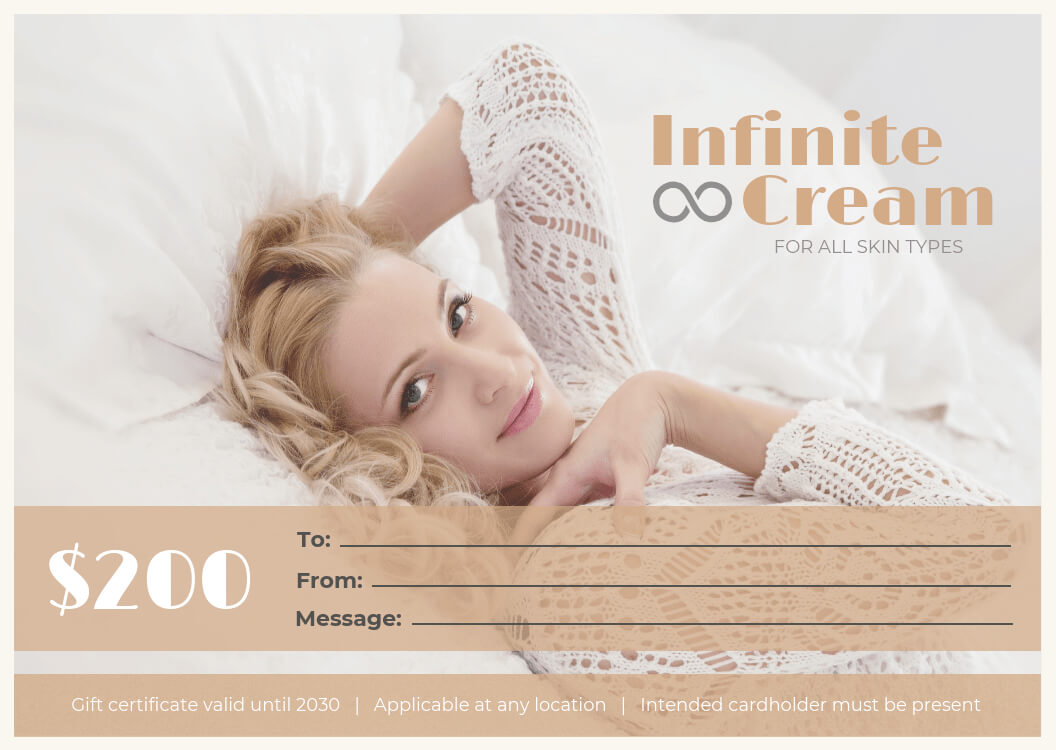 Spa Gift Certificate Template Template - Venngage Pertaining To Spa Day Gift Certificate Template