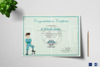 Sports Award Winning Congratulation Certificate Template within Rugby League Certificate Templates