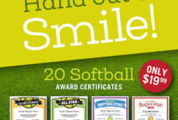 Sports Certificates Templates To Create Awards | Sports Feel pertaining to Softball Certificate Templates