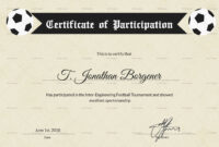Sports Day Football Certificate Template Intended For Football Certificate Template