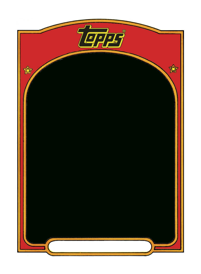 Sports Trading Card Templet. | Craft Ideas | Baseball Card within Football Betting Card Template