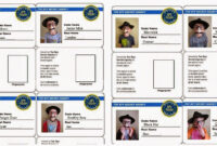 Spy Id Card | We Also Sent Each Boy Home With His Own Set Of regarding Spy Id Card Template