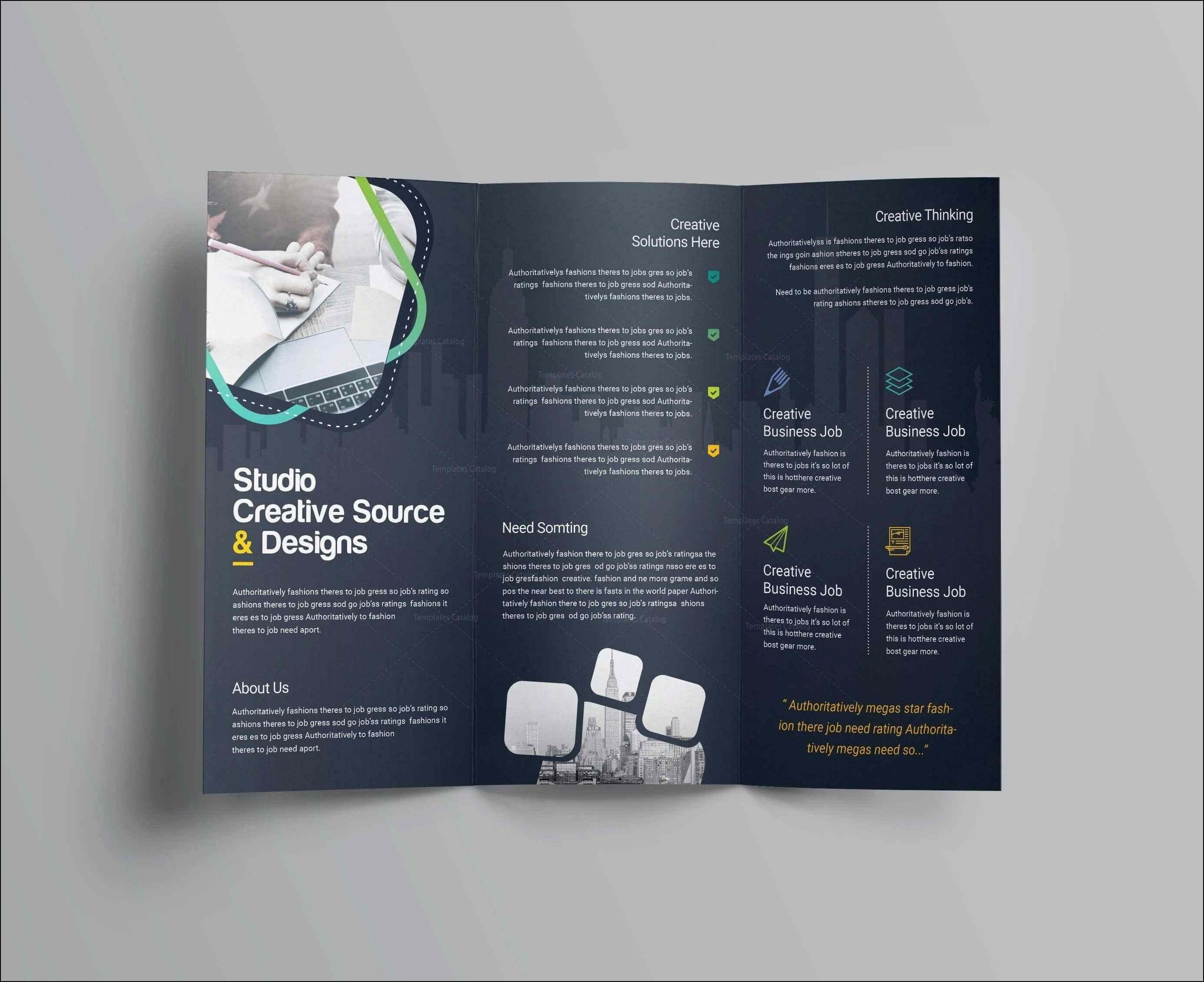 Staggering Word Brochure Template Free Ideas Tri Fold for Microsoft Word Brochure Template Free