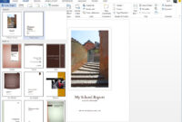 Starting Off Right: Templates And Built-In Content In The throughout Microsoft Word Cover Page Templates Download