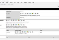 Status Report Template – Project Management for Project Manager Status Report Template