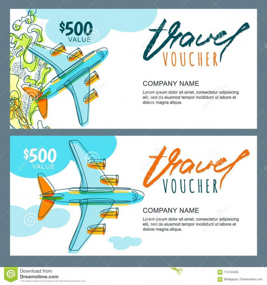 Stirring Travel Gift Certificate Template Ideas Word Free With Free Travel Gift Certificate Template
