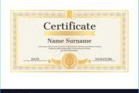 Stylish Star Naming Certificate Template To Make Certificate with regard to Star Naming Certificate Template