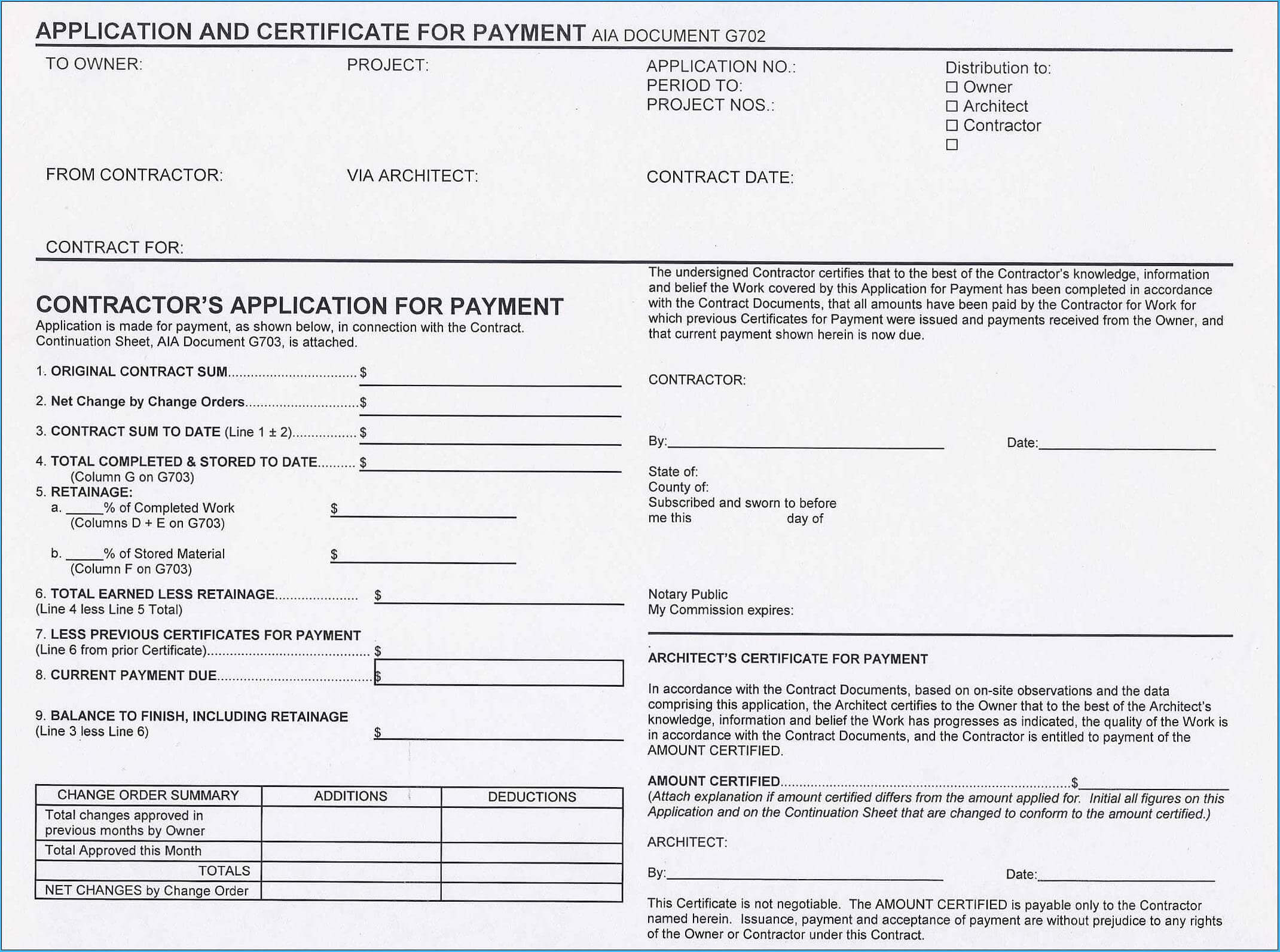Subcontractor Payment Certificate Template Excel #9967 in Certificate Of Payment Template