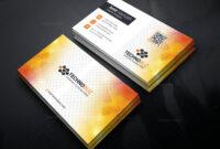 Sun Professional Corporate Visiting Card Template 001338 within Professional Name Card Template