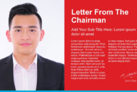Supply Chain Annual Report Powerpoint Templates regarding Chairman's Annual Report Template