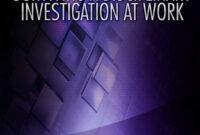Surviving A Disciplinary Investigation At Work inside Investigation Report Template Disciplinary Hearing
