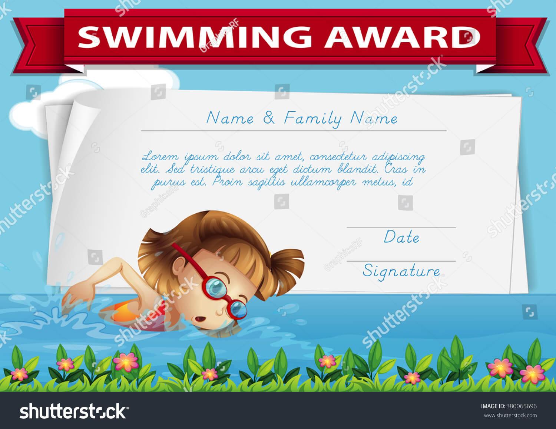Swimming Certificate Templates - Yupar.magdalene-Project throughout Free Swimming Certificate Templates