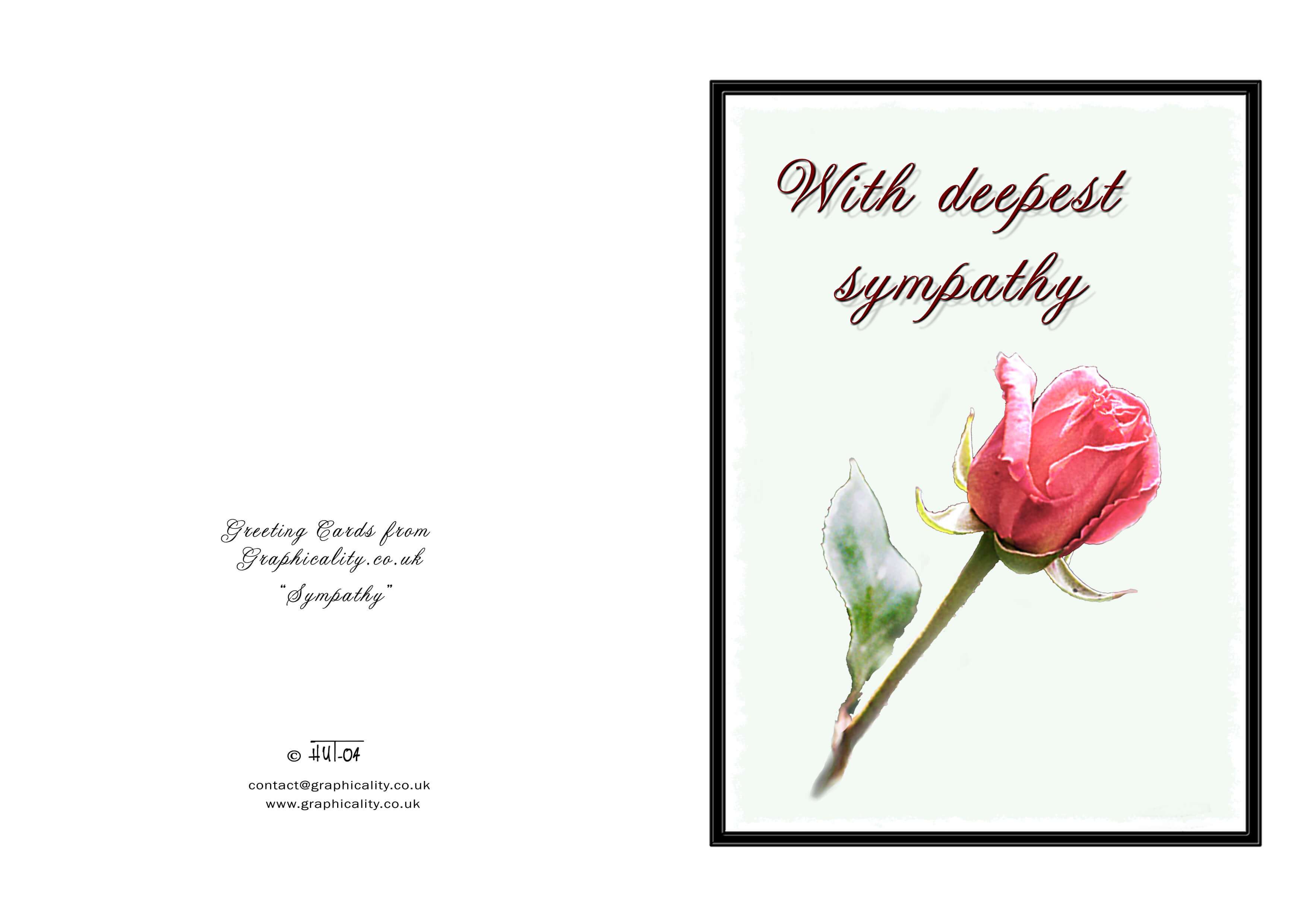 Sympathy Card Templates - Yupar.magdalene-Project for Sorry For Your Loss Card Template