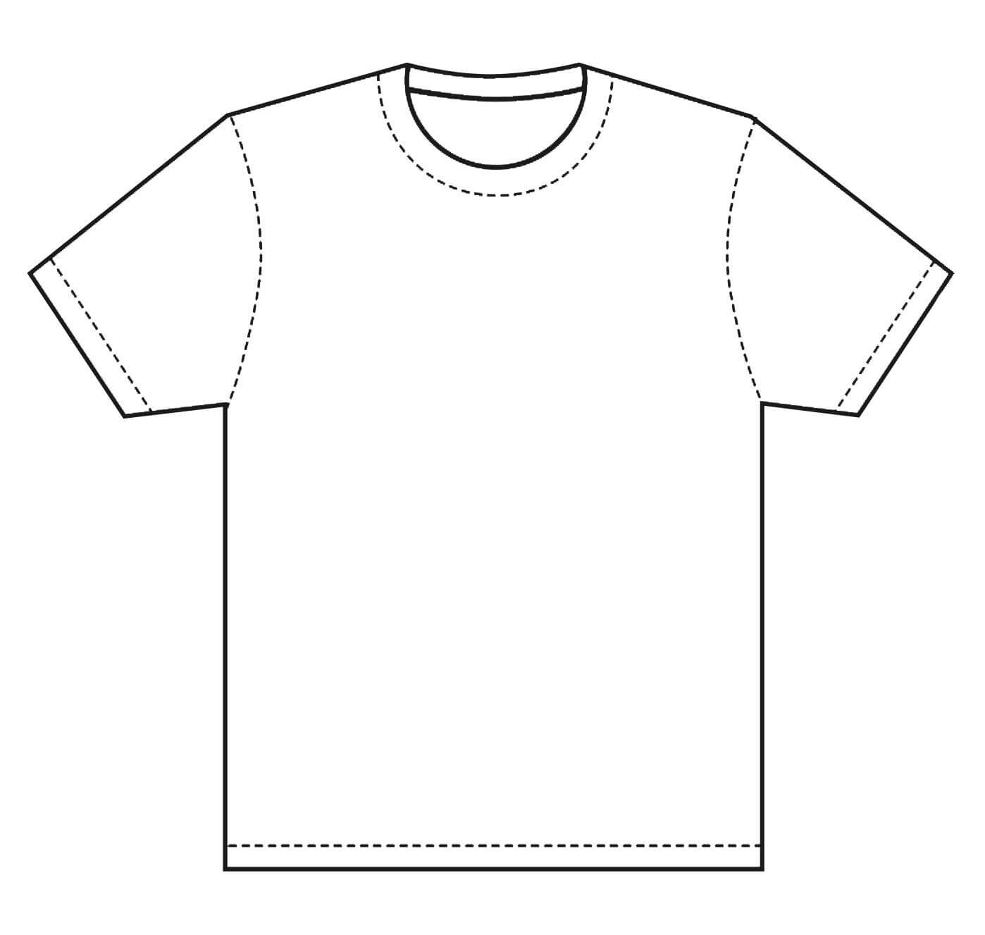 T-Shirt Template   Design T Shirt Template, This Is Great pertaining to Blank Tshirt Template Printable