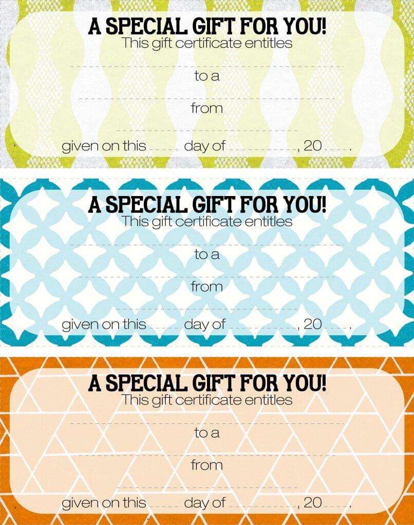 Teacher Appreciation - Tip #16: Give A Gift Certificate regarding Massage Gift Certificate Template Free Printable