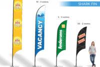 Teardrop | Shark Fin | Block | Banners | Expressway Signs pertaining to Sharkfin Banner Template