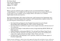 Technical Report Template Letter Sample regarding Template For Technical Report