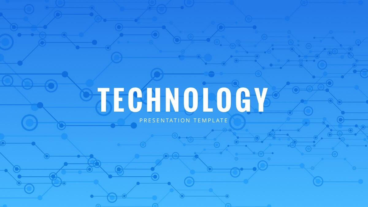 Technology Powerpoint Template - Free Powerpoint Presentation Within Powerpoint Templates For Technology Presentations