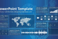 Technology Screen Powerpoint Template with regard to Powerpoint Templates For Technology Presentations