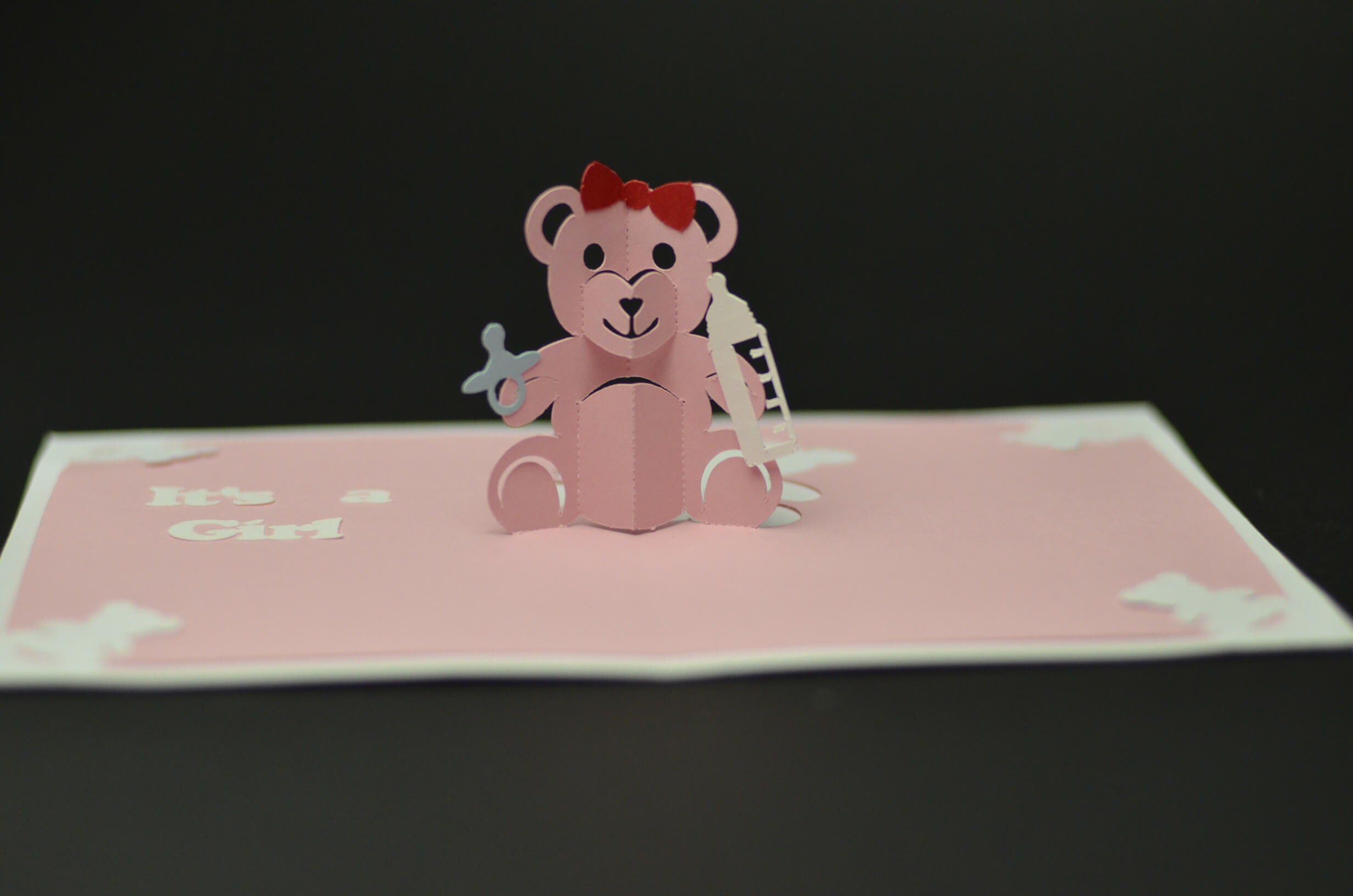 Teddy Bear Pop Up Card: Tutorial And Template - Creative Pop with regard to Teddy Bear Pop Up Card Template Free