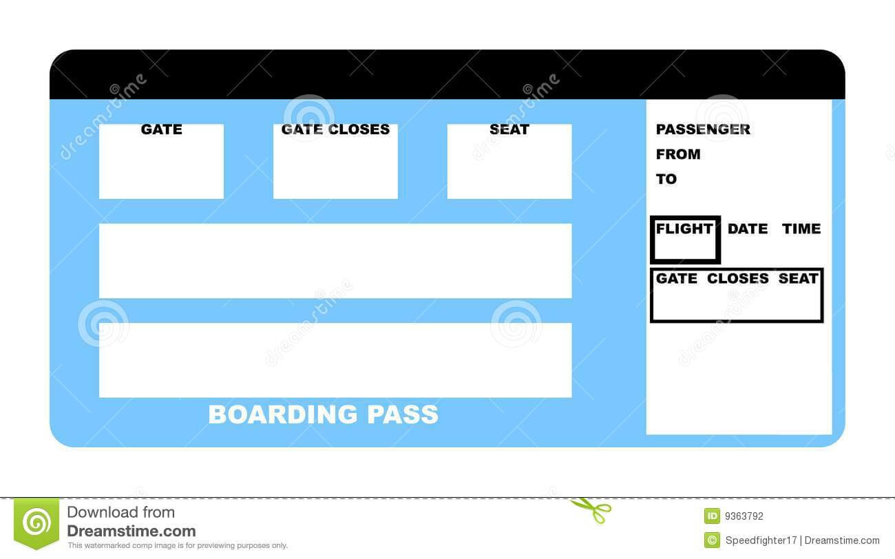 Template Airline Ticket - Yupar.magdalene-Project with regard to Plane Ticket Template Word