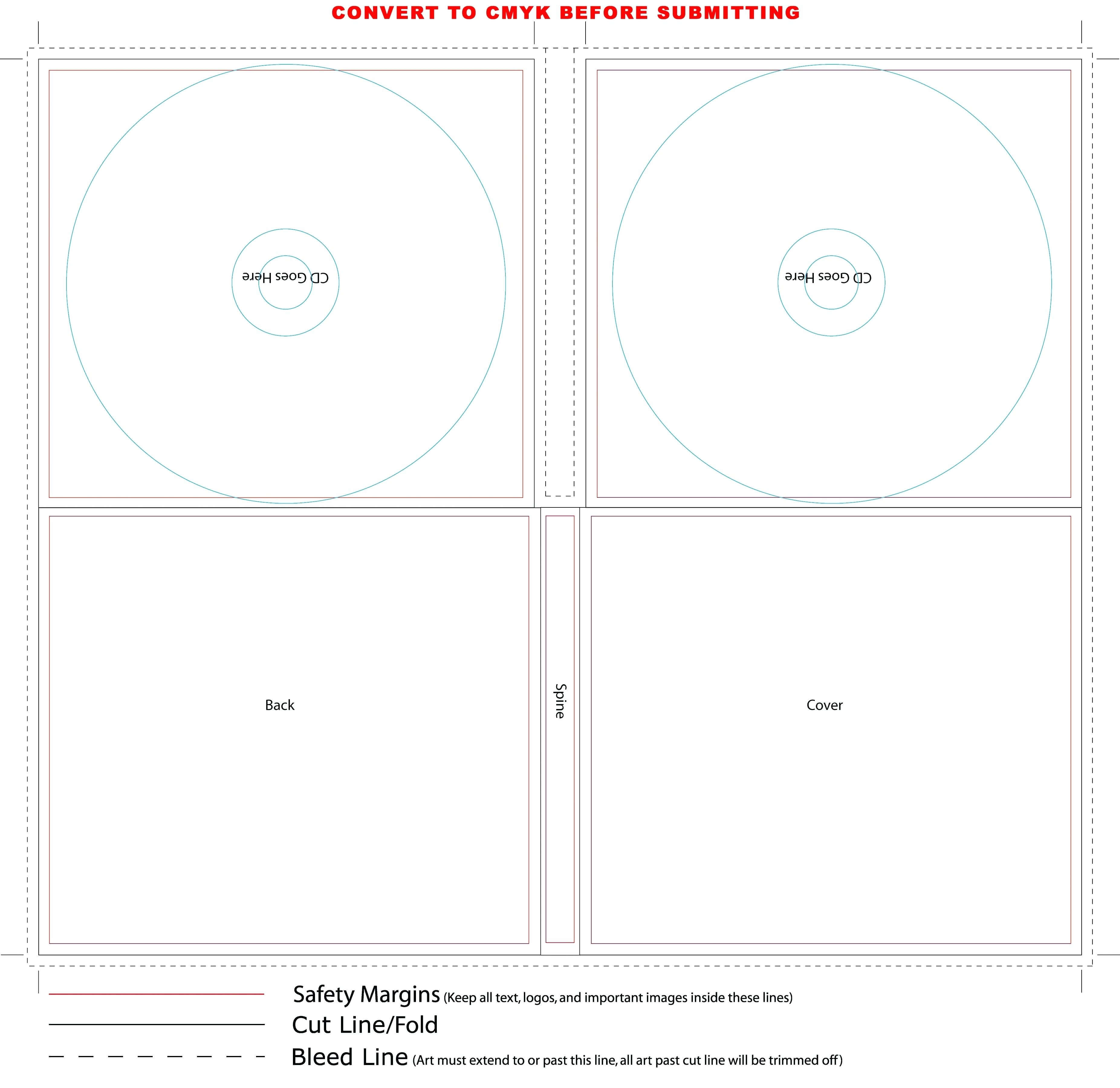 Template: Case Insert Template House Cd Cover Print Word. Cd for Cd Liner Notes Template Word