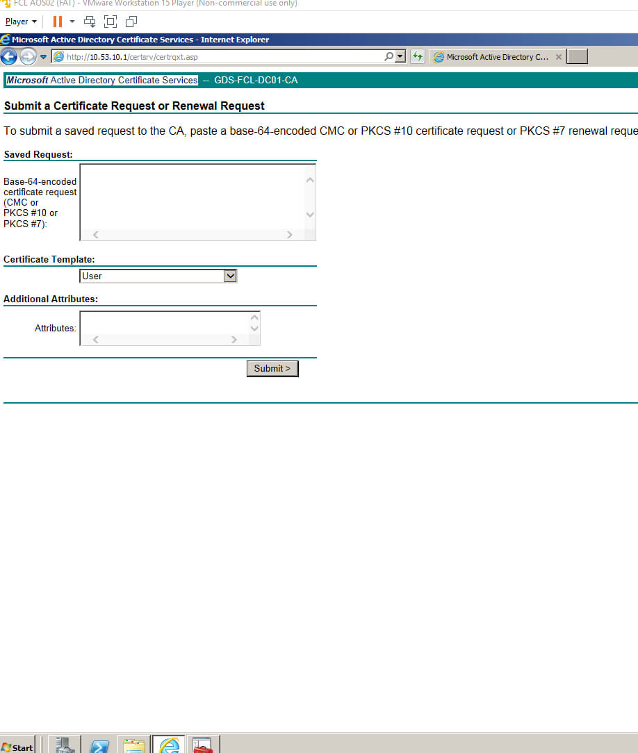Template For Microsoft Active Directory Certificate Services Throughout Active Directory Certificate Templates