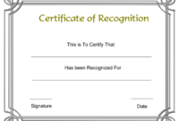 Template Free Award Certificate Templates And Employee with Safe Driving Certificate Template