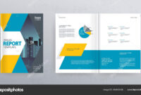 Template Layout Design Cover Page Company Profile Annual pertaining to Cover Page For Annual Report Template