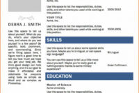 Template. Microsoft Word Cv Template Free: Microsoft Word intended for Simple Resume Template Microsoft Word