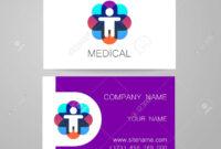 Template Of Medical Business Cards. regarding Medical Business Cards Templates Free