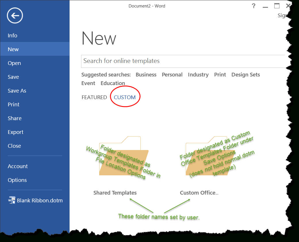 Templates In Microsoft Word – One Of The Tutorials In The Intended For How To Use Templates In Word 2010