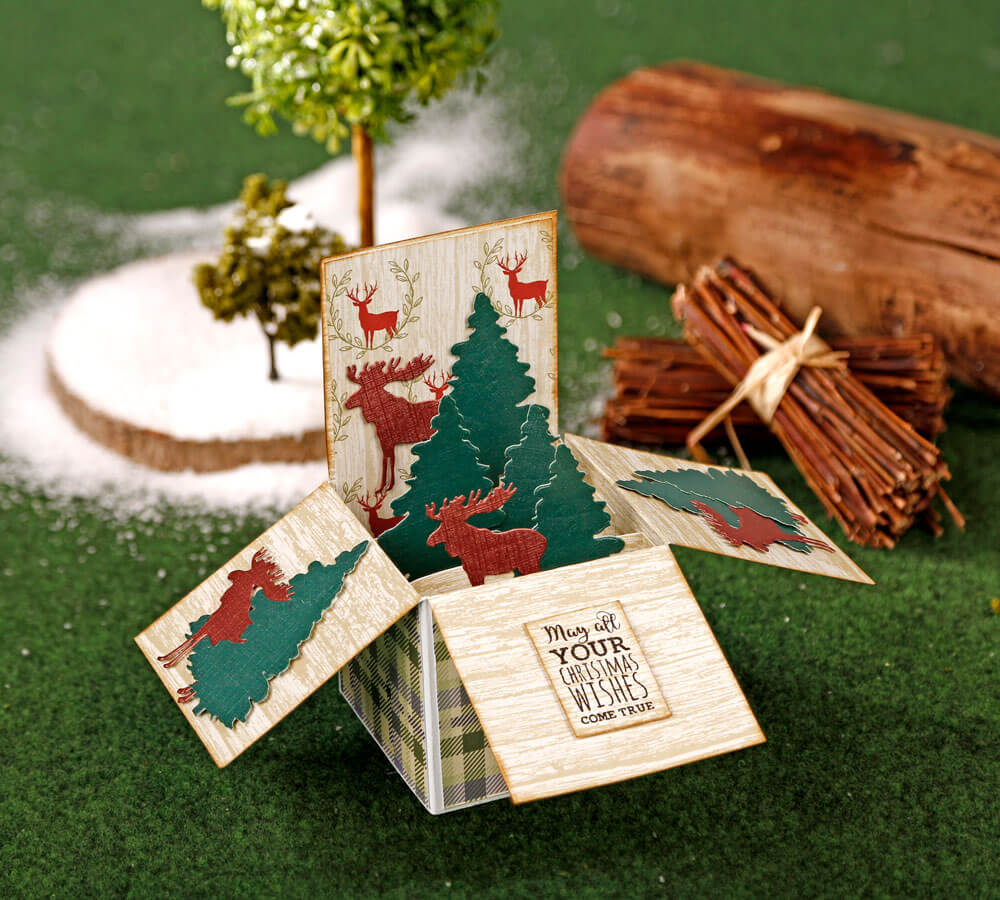 Terrific Pop-Up Box Card Template - Simply Cards in Pop Up Box Card Template