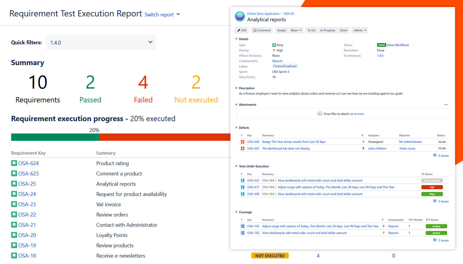 Testflo - Test Management For Jira   Atlassian Marketplace within Test Case Execution Report Template
