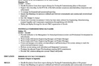 Testing & Commissioning Resume Samples | Velvet Jobs within Megger Test Report Template