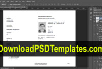 Texas Temporary Permit Template Psd throughout Texas Id Card Template