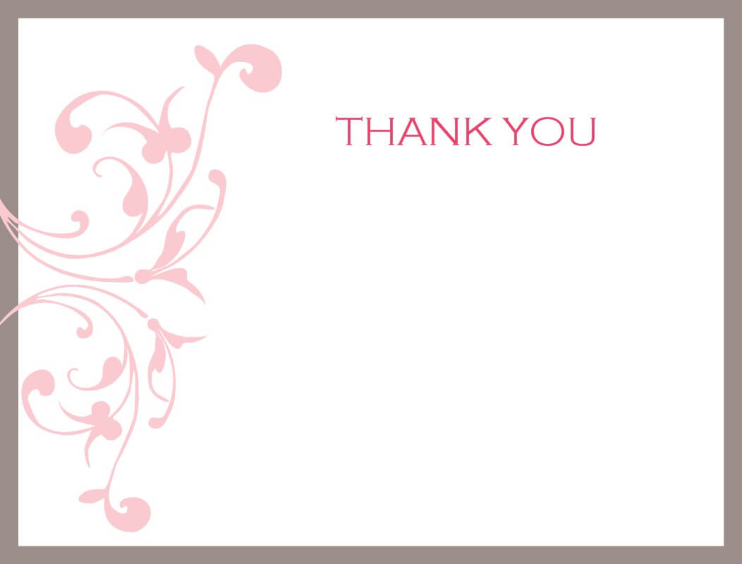 Thank You Card Templates Free With Powerpoint Thank You Card Template