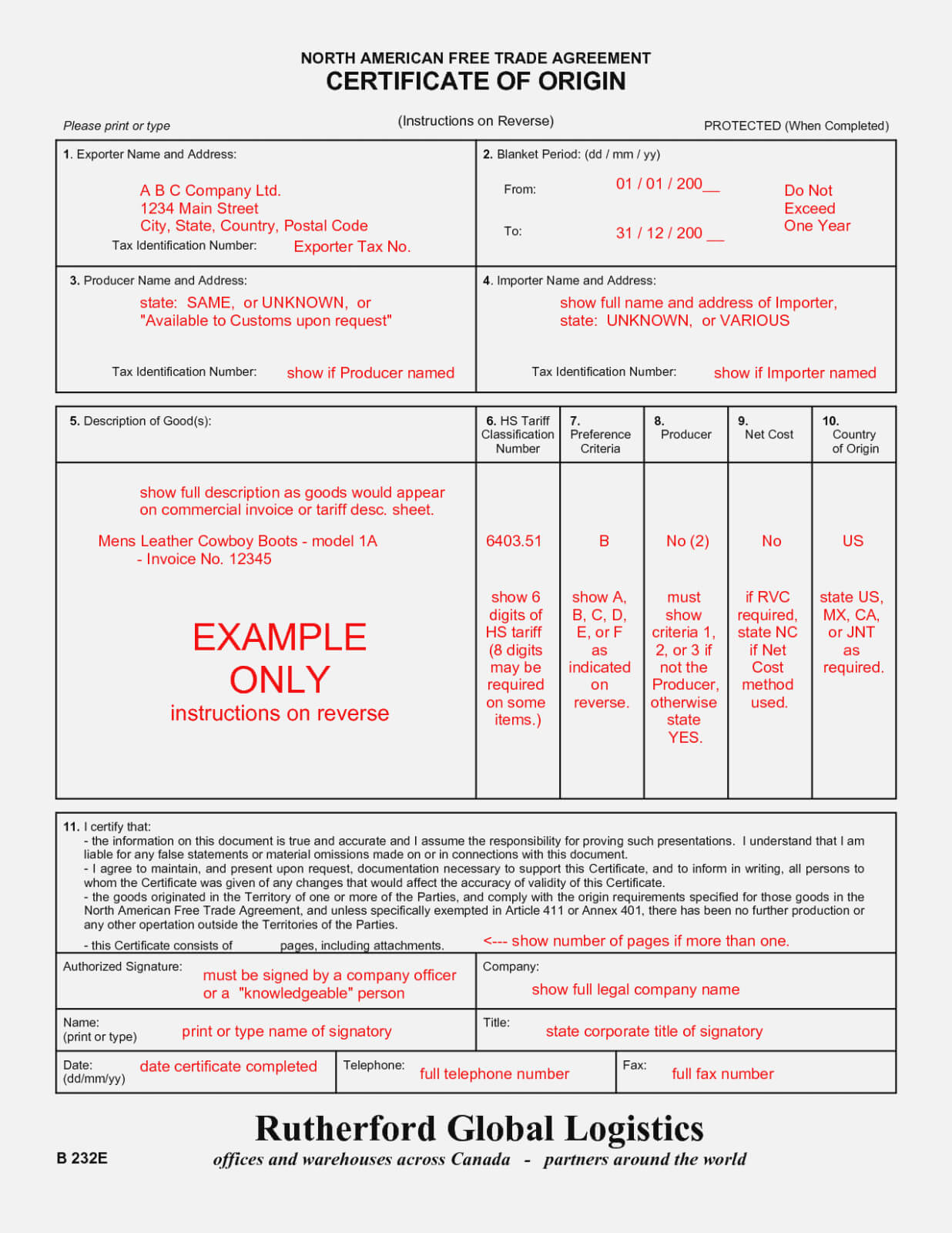 The 15 Common Stereotypes | Realty Executives Mi : Invoice with regard to Nafta Certificate Template