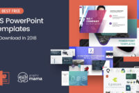 The Best Free Powerpoint Templates To Download In 2018 for How To Design A Powerpoint Template