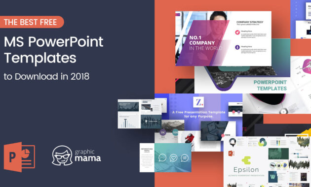 The Best Free Powerpoint Templates To Download In 2018 inside Powerpoint Sample Templates Free Download