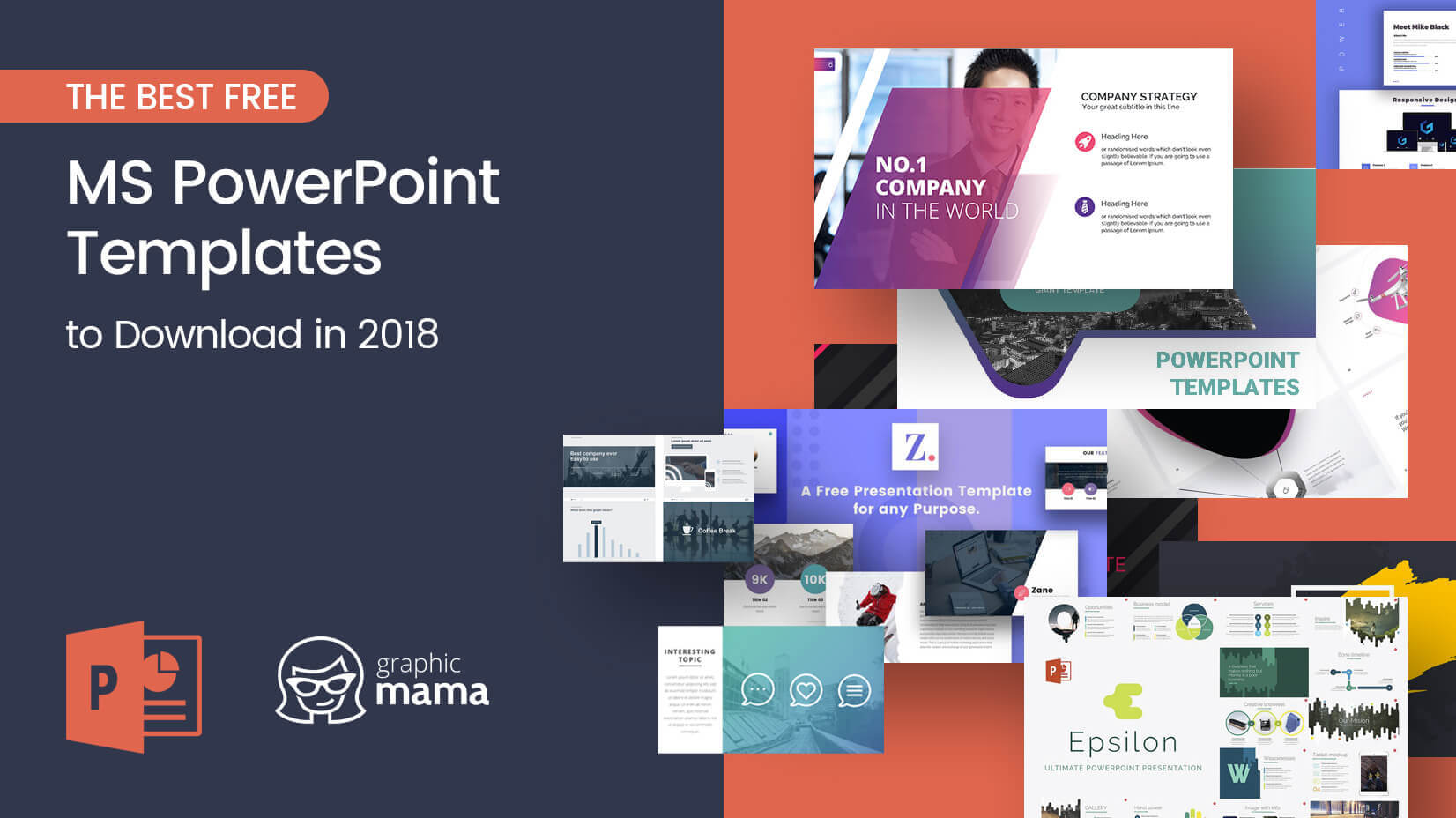 The Best Free Powerpoint Templates To Download In 2018 Pertaining To Powerpoint Slides Design Templates For Free