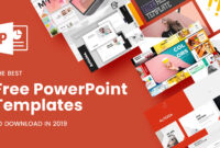 The Best Free Powerpoint Templates To Download In 2019 for Powerpoint Slides Design Templates For Free