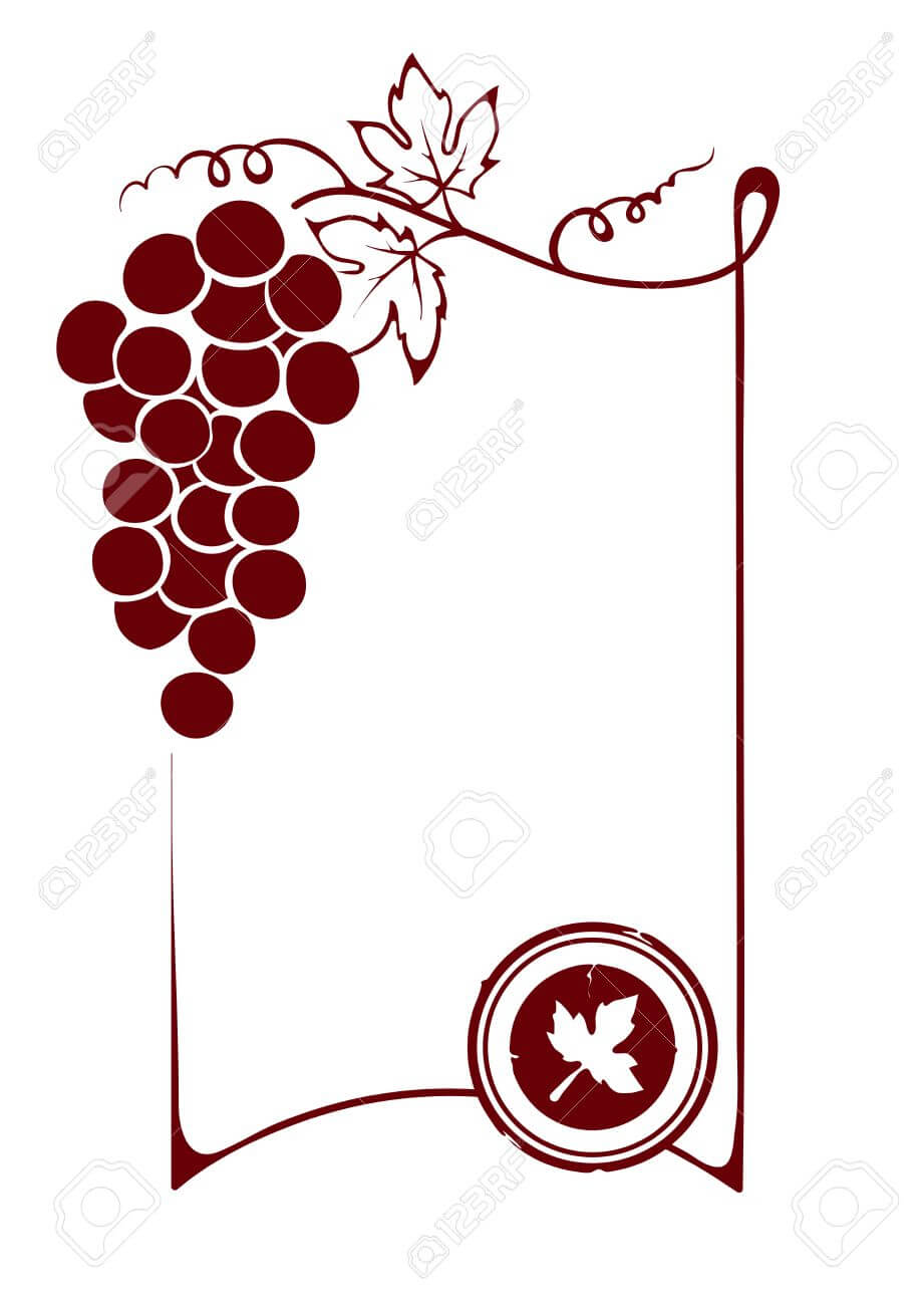 The Blank Wine Label pertaining to Blank Wine Label Template