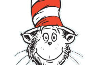 The Cat In The Hat Is A Legendary Character In The Picture pertaining to Blank Cat In The Hat Template