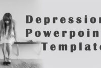 The Great Depression Powerpoint Template with Depression Powerpoint Template
