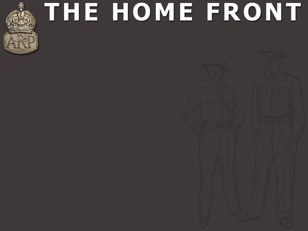 The Home Front Powerpoint Template | Adobe Education Exchange Pertaining To World War 2 Powerpoint Template