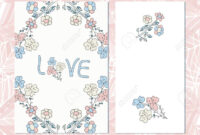The Template For The Wedding. Invitation, Anniversary Card, Valentine's.. with regard to Template For Anniversary Card