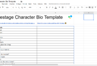 The Ultimate Character Bio Template 2018   70+ Questions regarding Free Bio Template Fill In Blank