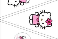 The Vintage Farmhouse: Hello Kitty Party & Free Printables pertaining to Hello Kitty Banner Template