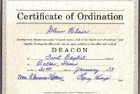 Thebrownfaminaz: Free Printable Deacon Ordination Certificate intended for Ordination Certificate Templates